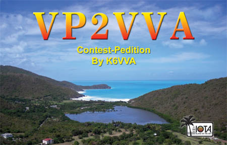 VP2VVA QSL