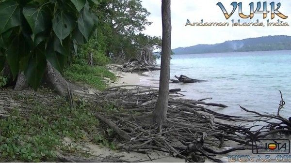 Andaman Islands VU4K QSL