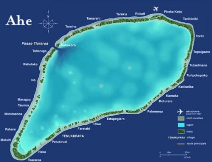 Atoll Ahe King George Islands FO/KH0PR DX News