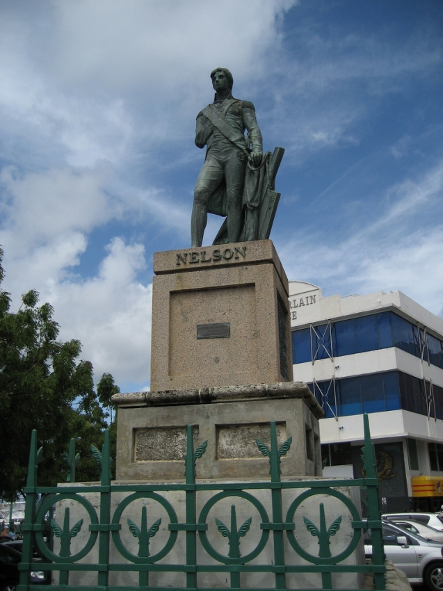 Barbados Admiral Nelson Monument 8P5A