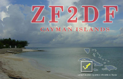 Cayman Islands ZF2DF
