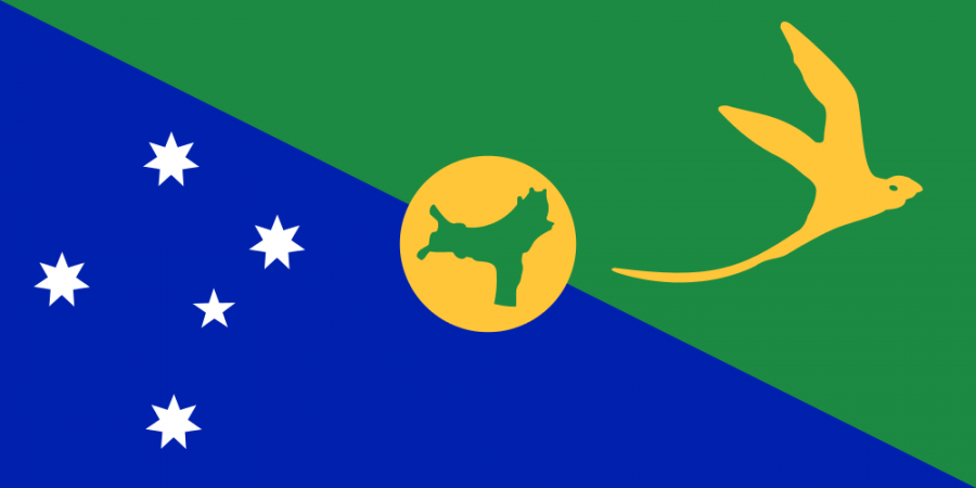 Christmas Island Flag of Christmas Island VK9EX
