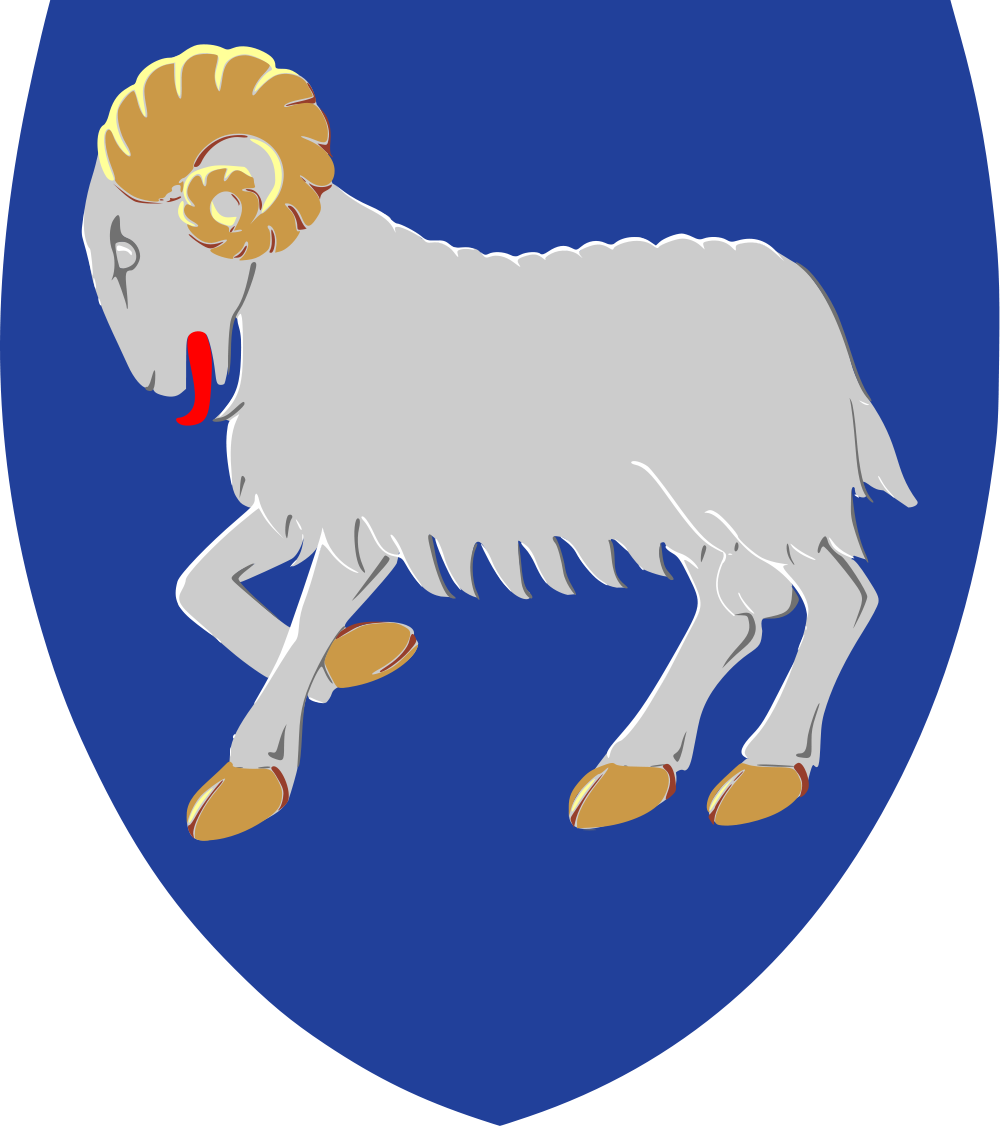 Faroe Islands Coat of Arms of the Faroe Islands