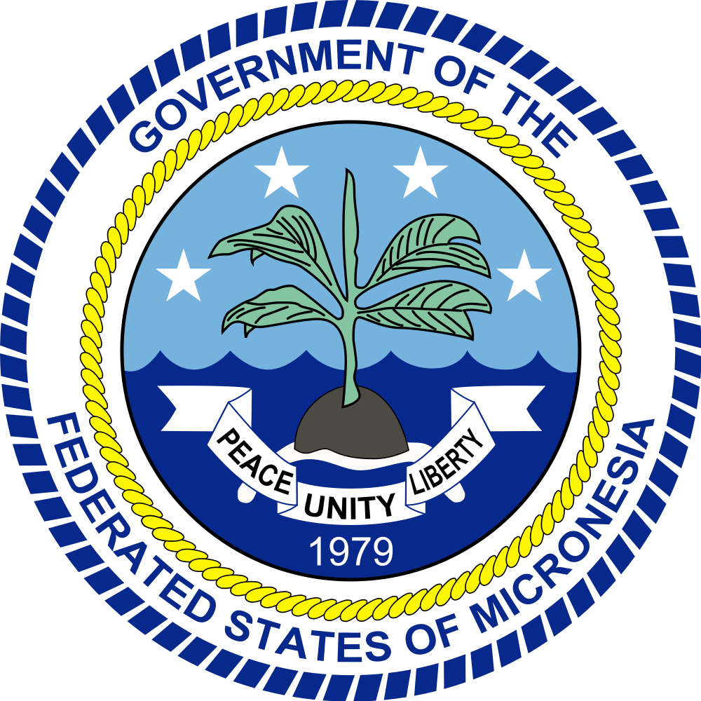 Federated States of Micronesia Coat of Arms of the Federated States of Micronesia