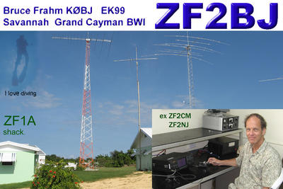 Grand Cayman Island ZF2BJ