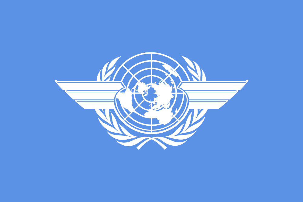 International Civil Aviation Flag of ICAO 4Y1A