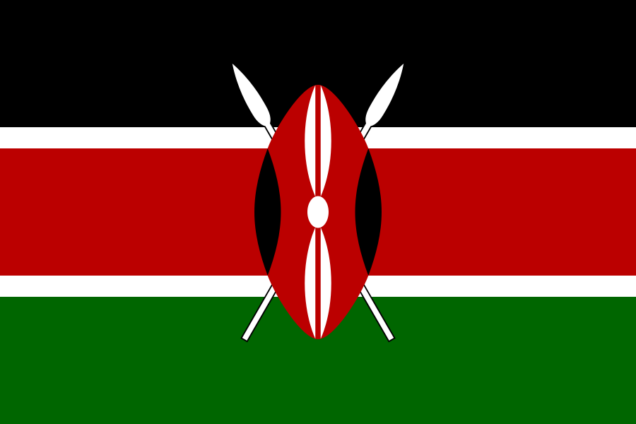 Kenya Flag of Kenya