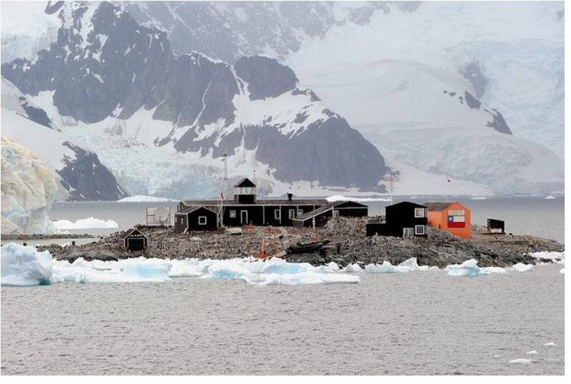 King George Island President Gabriel Gonzalez Videla Base South Shetland Islands CE9VPM Antarctica