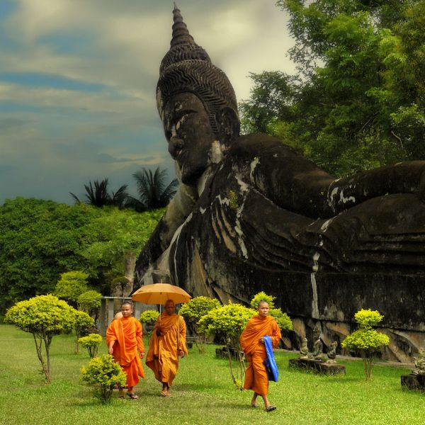 Laos XW7T Tourist Attractions