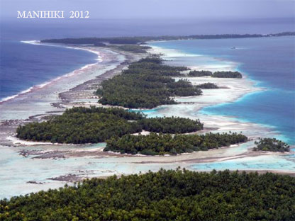Manihiki Atoll North Cook Islands E51M