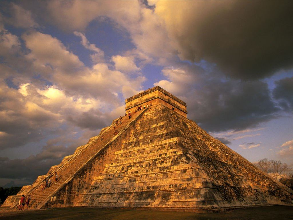 Mexico XE1/DM3DL Maya Piramide