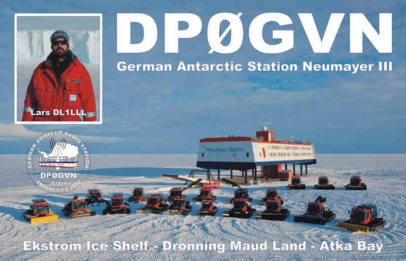 Neumayer Station III Antarctica DP0GVN