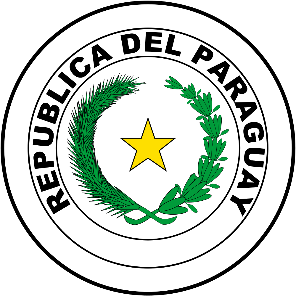 Paraguay Coat of Arms of Paraguay ZP9/UA4WHX