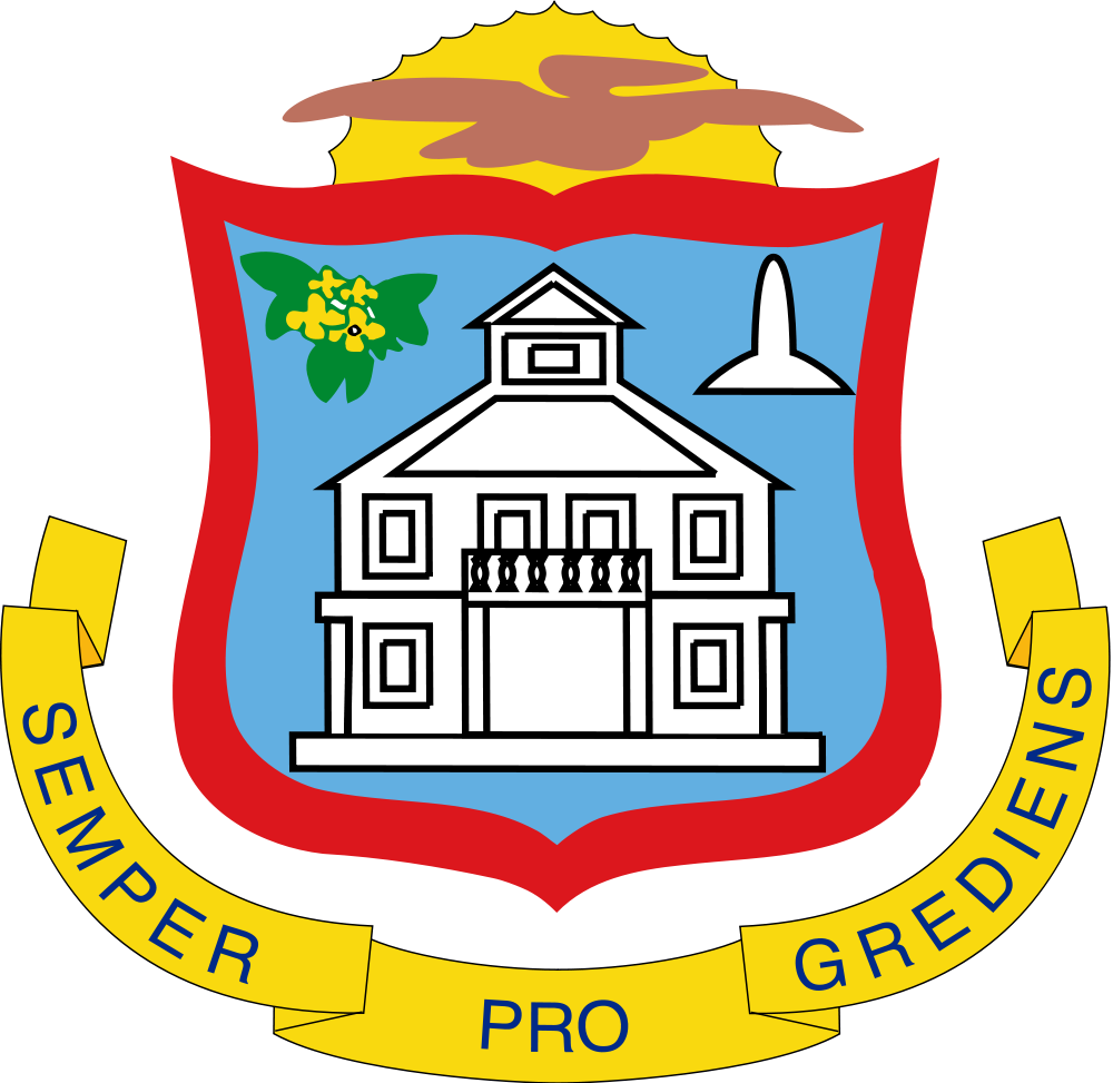 Sint Maarten Coat of Arms of Sint Maarten PJ7RV