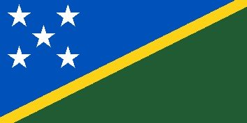 Solomon Islands H44G Flag