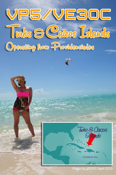 Turks Caicos VP5/VE3OC