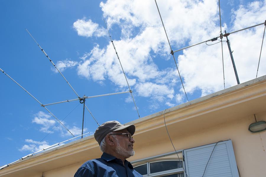 3B8DB Mauritius Island HF Antennas