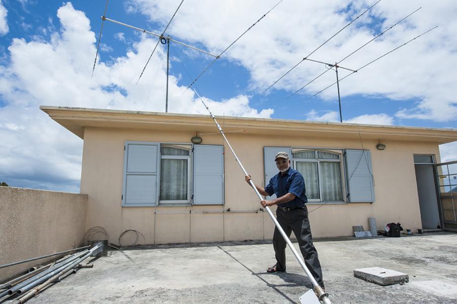 3B8DB Mauritius Vertical R7 Antenna