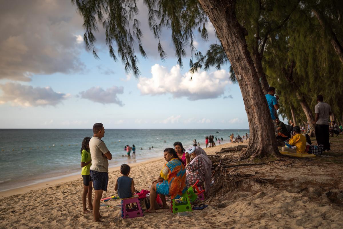 Остров Маврикий 3B8/IW2NEF Туристические достопримечательности Тамарин Блек Ривер