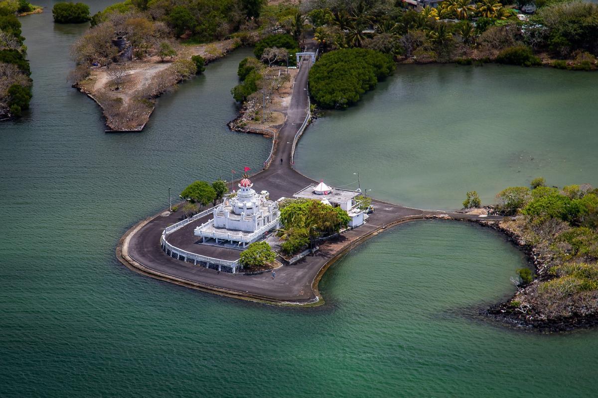 3B8MU Hindu Temple, Mauritius Island
