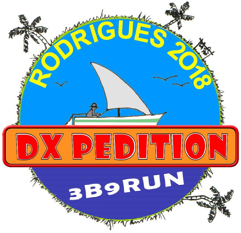 3B9RUN Rodrigues Island DX Pedition Banner