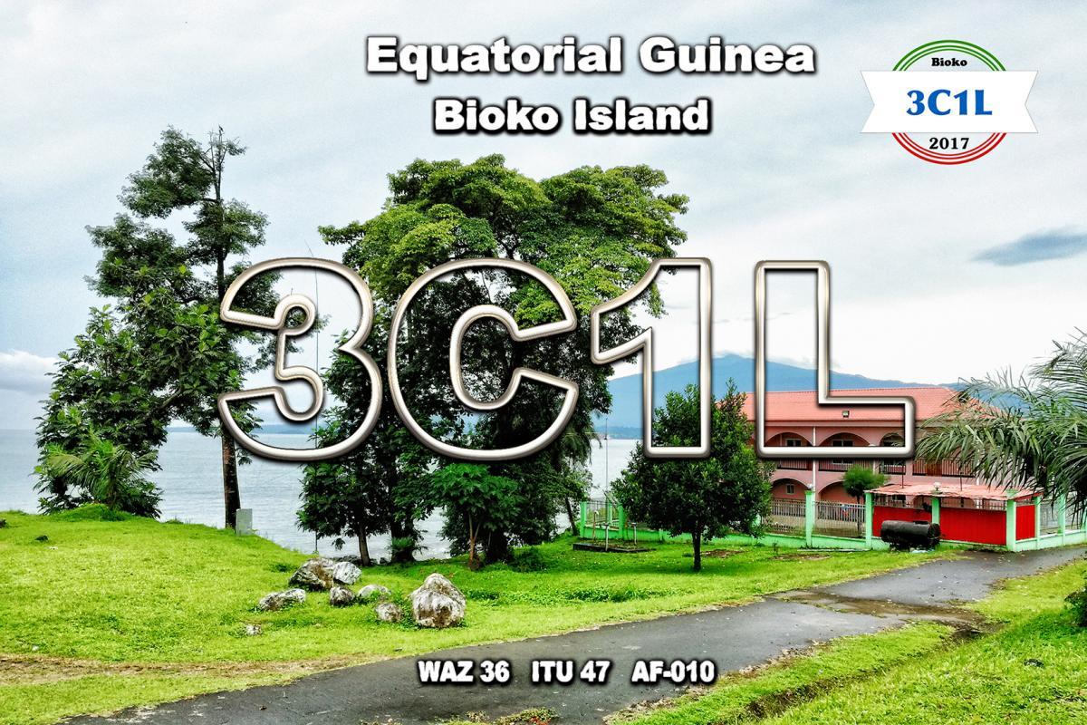 3C1L Bioko Island Equatorial Guinea QSL