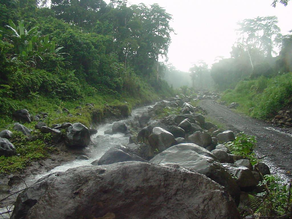 3C3W Paco River, Bioko - Fernando Po Island, Equatorial Guinea. Tourist attractions spot