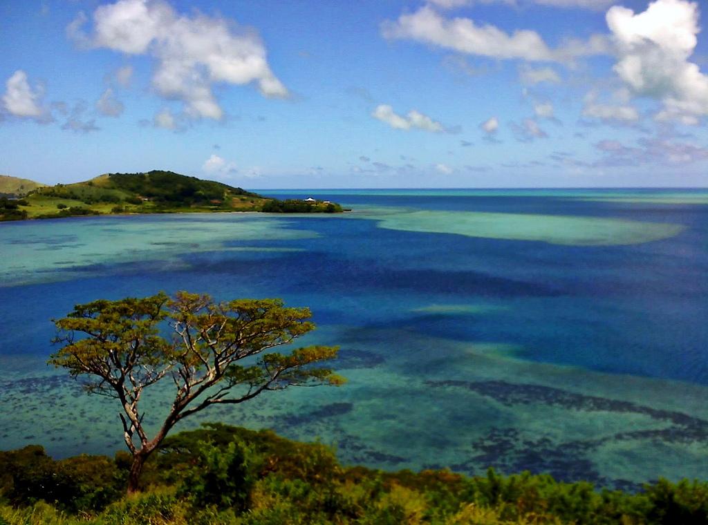 3D2GE Wananavu, Viti Levu Island, Fiji. Tourist attractions spot.