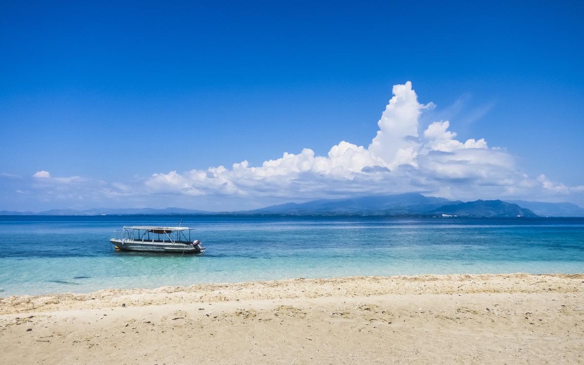 3D2T Остров Вити Леву Туристические достопримечательности Снимок с острова Баунти