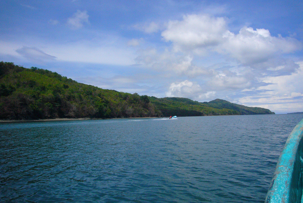 3F6IC Северное побережье острова Себако, Панама. Туристические достопримечательности.