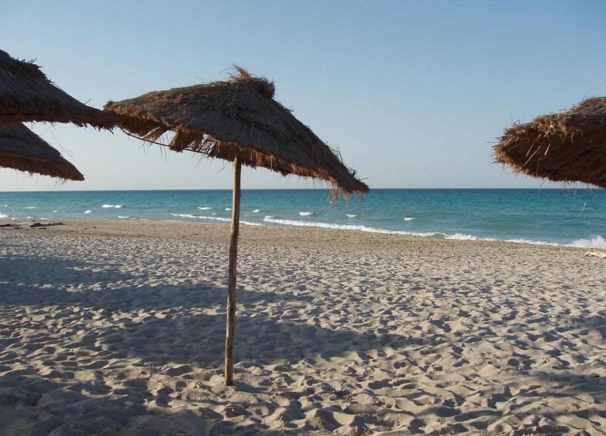 3V8CQ Остров Джерба, Тунис. Туристические достопримечательности.