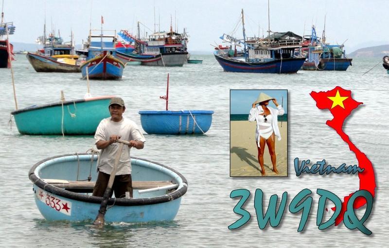 3W9DQ Vietnam QSL