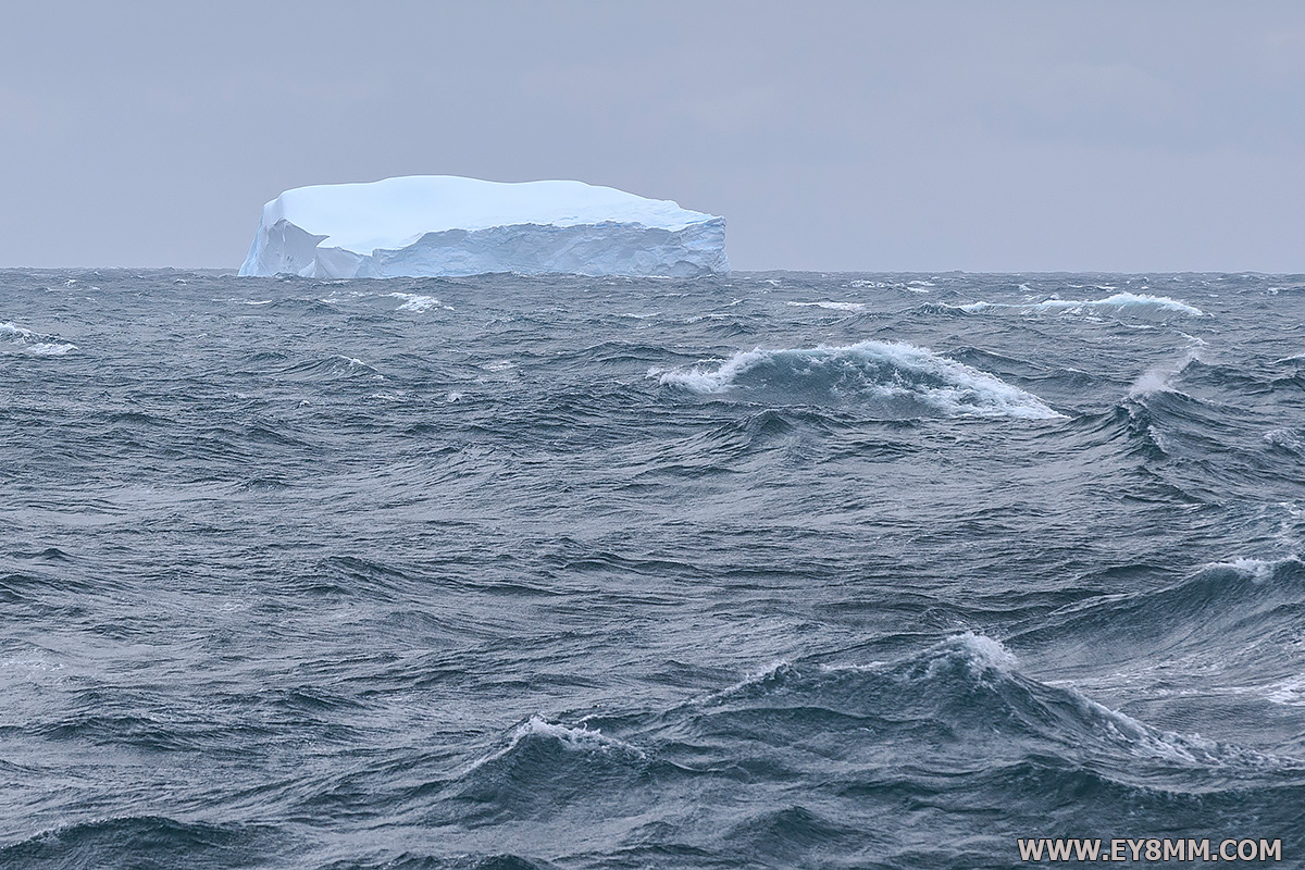 3Y0Z Bouvet Island DX Pedition First Iceberg