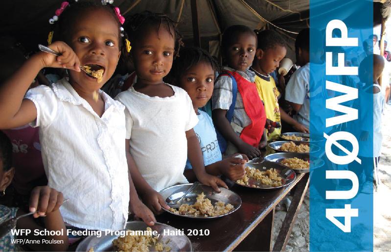 United Nations World Food Programme 4U0WFP Amateur Radio Station QSL