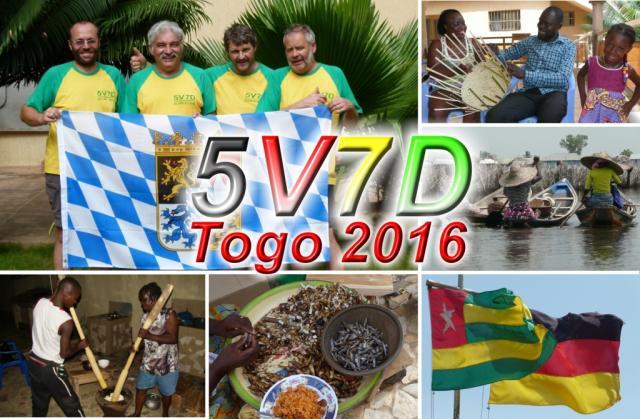 Togo 5V7D QSL