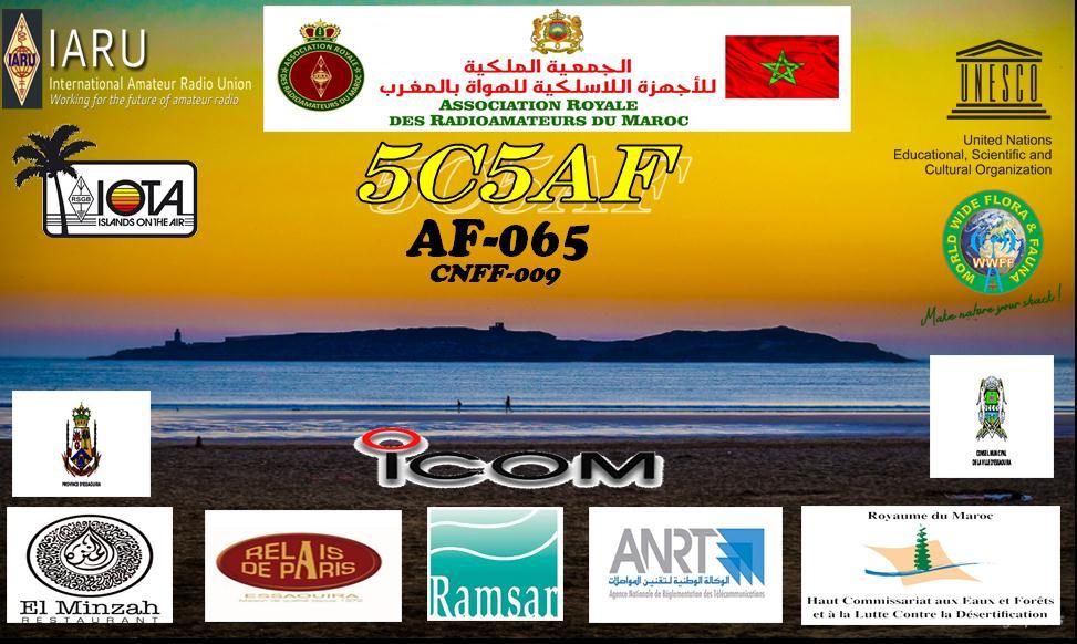 5C5AF Mogador Island QSL