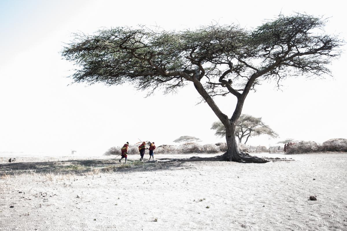 5H0JK Деревня масаи, Танзания. DX Новости.