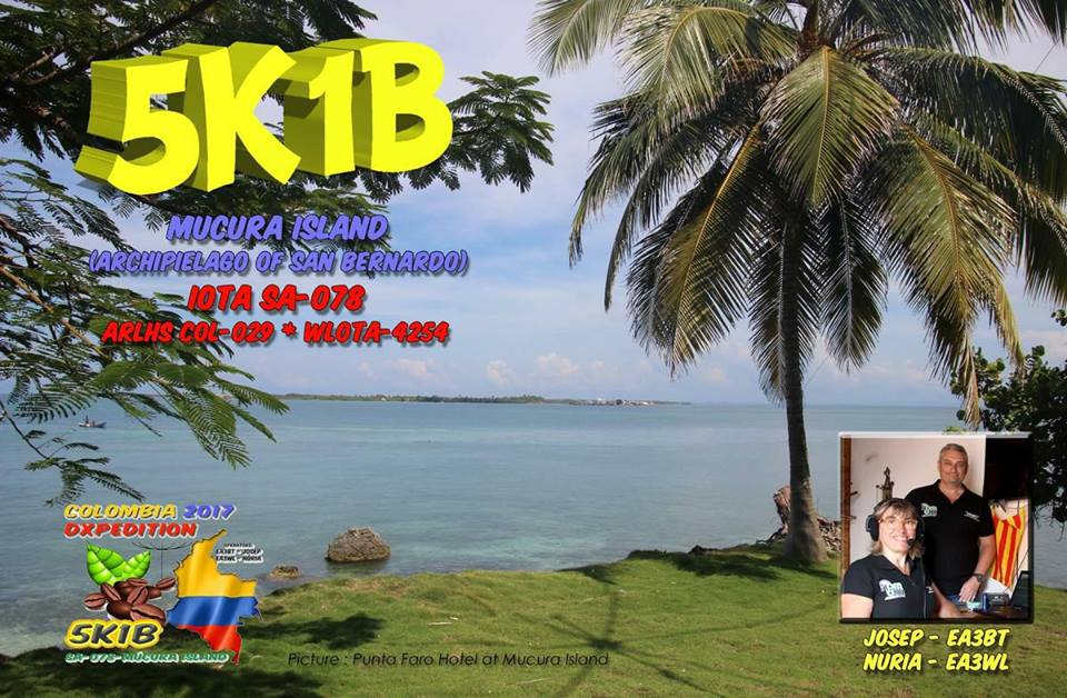 5K1B Mucura Island QSL