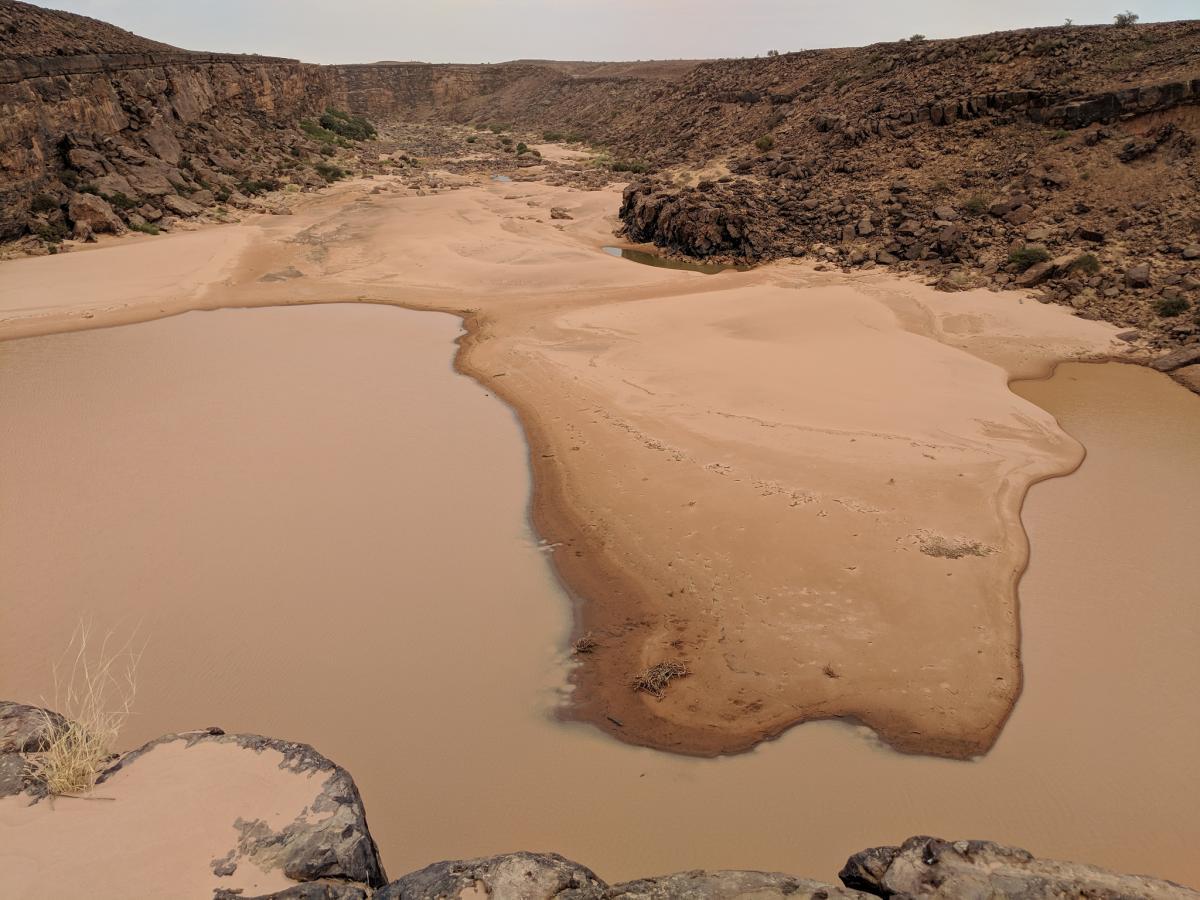 5T2KW Нбеика, Мавритания. Туристические достопримечательности.