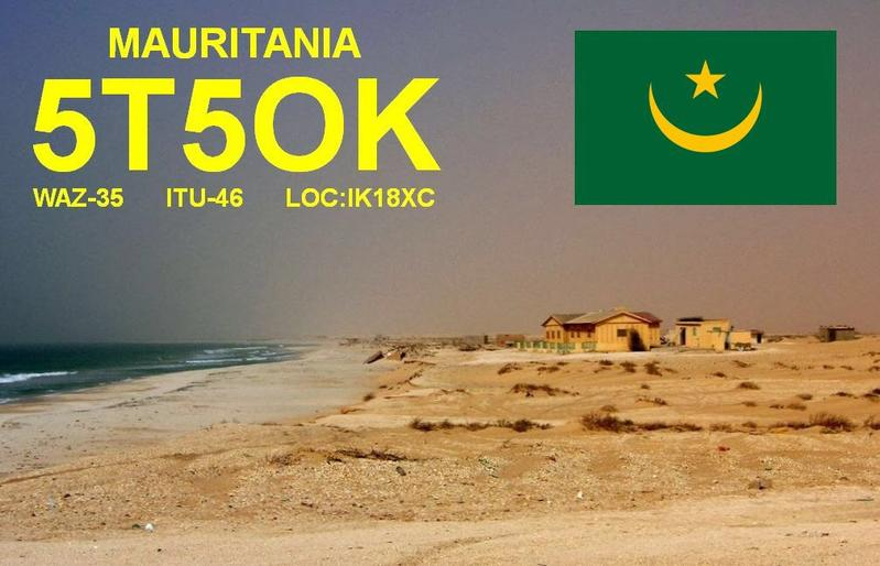 Mauritania 5T5OK DX Pedition Logo