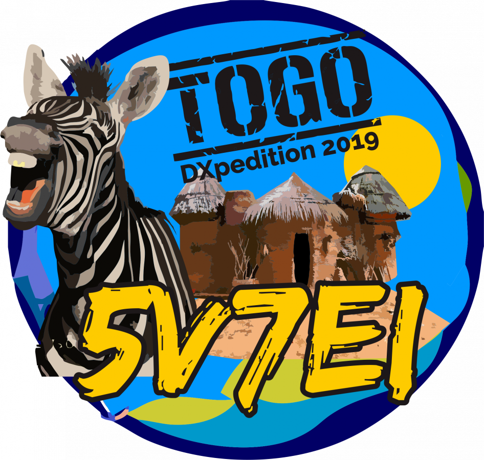5V7EI Togo DX Pedition Logo