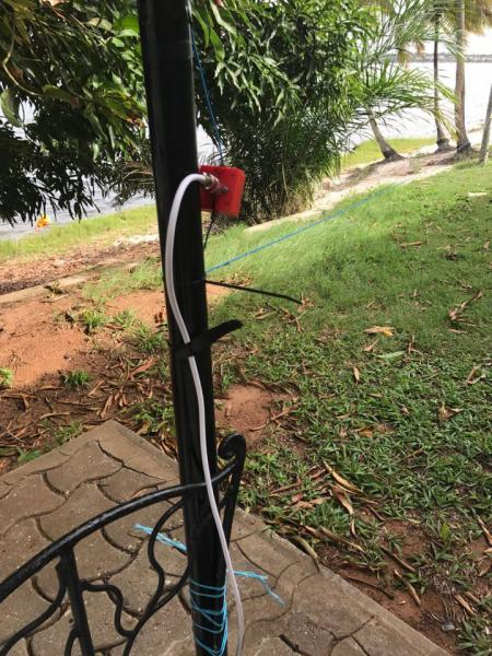 5V7P Togo News 23 April 2017 160m RX Antenna DHDL