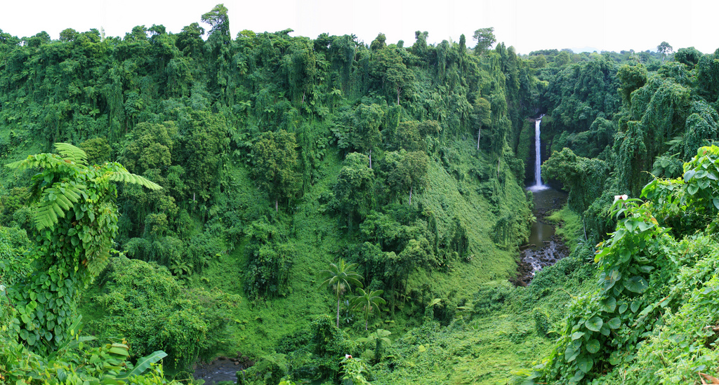 5W0LR Водопад Сопоага, Самоа.