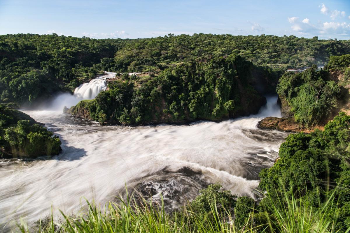 5X0T 5X0X Водопад Мерчисона, Уганда.