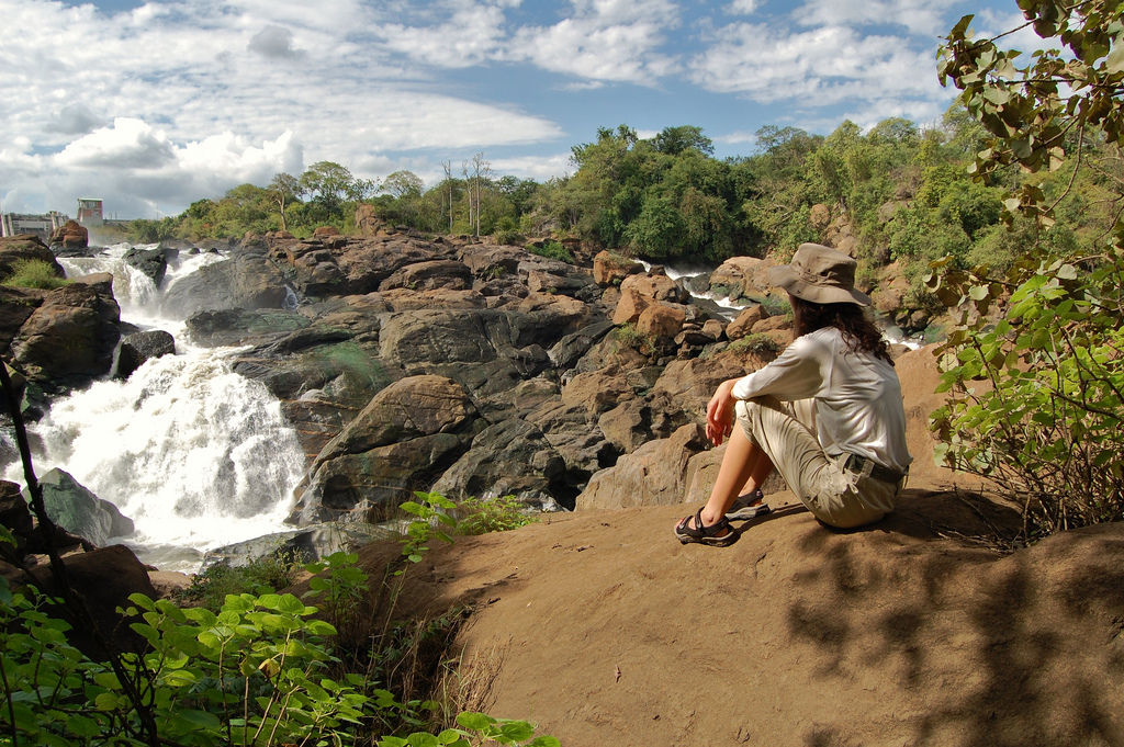 7Q7AB Majete Wildlife Reserve, Blantyre, Malawi. Tourist attractions spot.