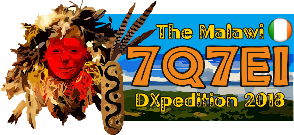 7Q7EI Malawi DX Pedition Logo 2