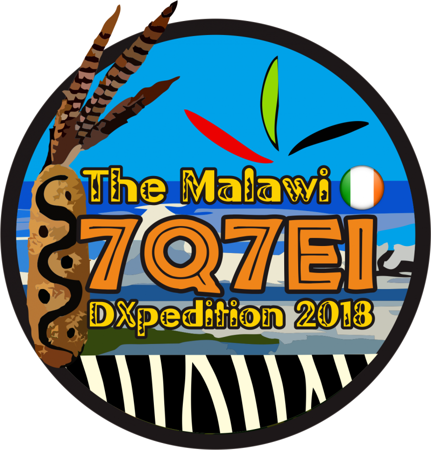 7Q7EI EIDX Group DX Pedition Malawi logo