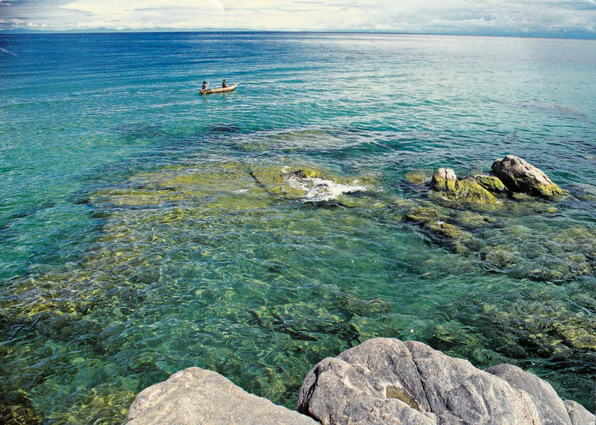 7Q7M Malawi Lake, Malawi. Tourist attractions spot