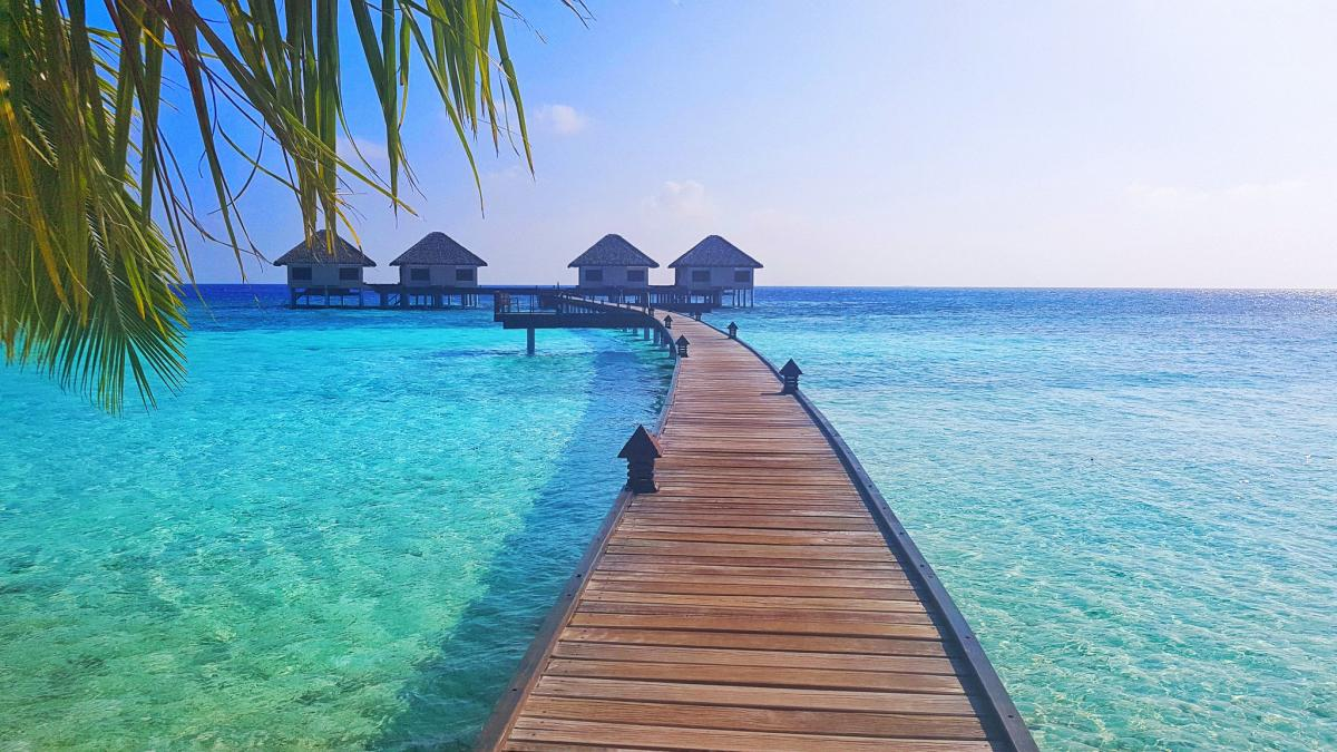 8Q7IP Maldive Islands Tourist attractions spot