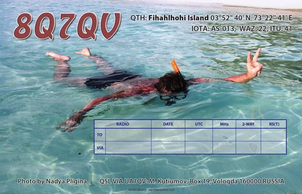 8Q7QV Fihalhohi Island Maldives QSL 1